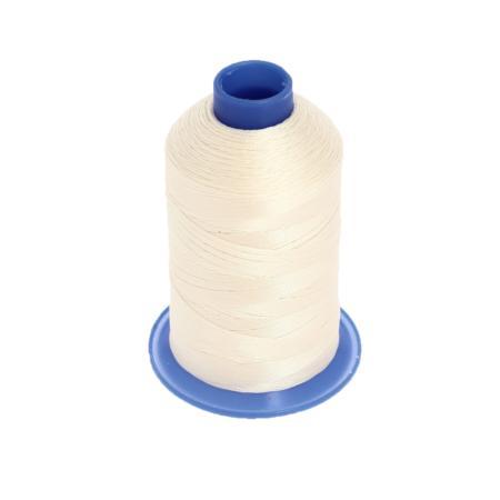 Bobine de fil polyester retors N° 60 - 700 mètres - Beige