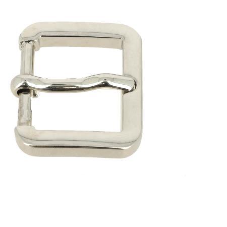 Boucle de ceinture à ardillon - NICKELÉ - 30 mm
