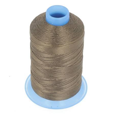 Bobine de fil polyester retors N° 30 - 400 mètres - MARRON FONCÉ