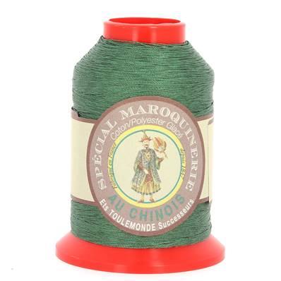 Fil Spécial Maroquinerie polyester coton - 28/2 - 0,38 mm - VERT