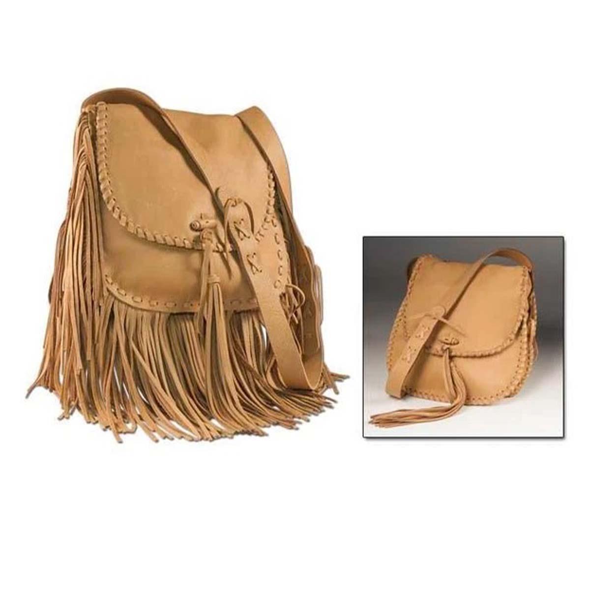 Kit pour sac en cuir à franges JANIS - 44321-01