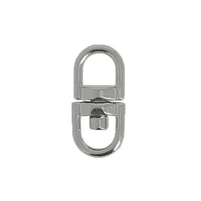 Liaison tournante porte-clés - NICKELE - 5 mm