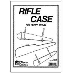 Patrons pour étuis à fusil en cuir - 6028-00
