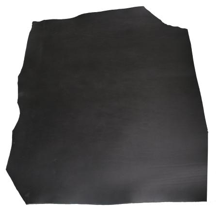 Demi collet tannage végétal - NOIR - Épaisseur 2,5 mm