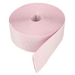 Sangle synthétique ROSE PASTEL - Largeur 40 mm - 5 mètres