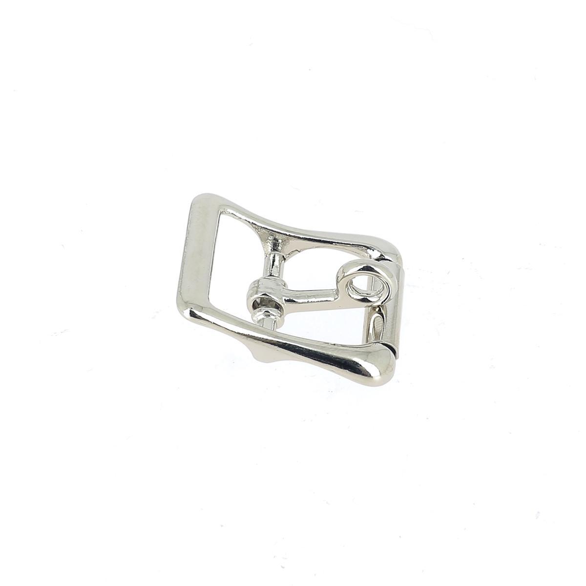 Boucle de ceinture double à ardillon de verrouillage - NICKELÉ - Tandy Leather
