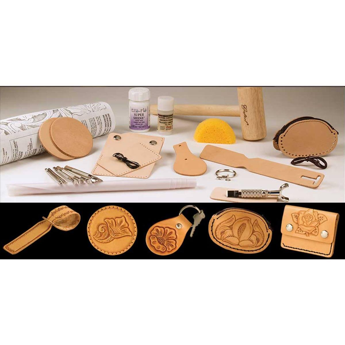 "Kit complet ""BASIC CARVING"" - 55401"