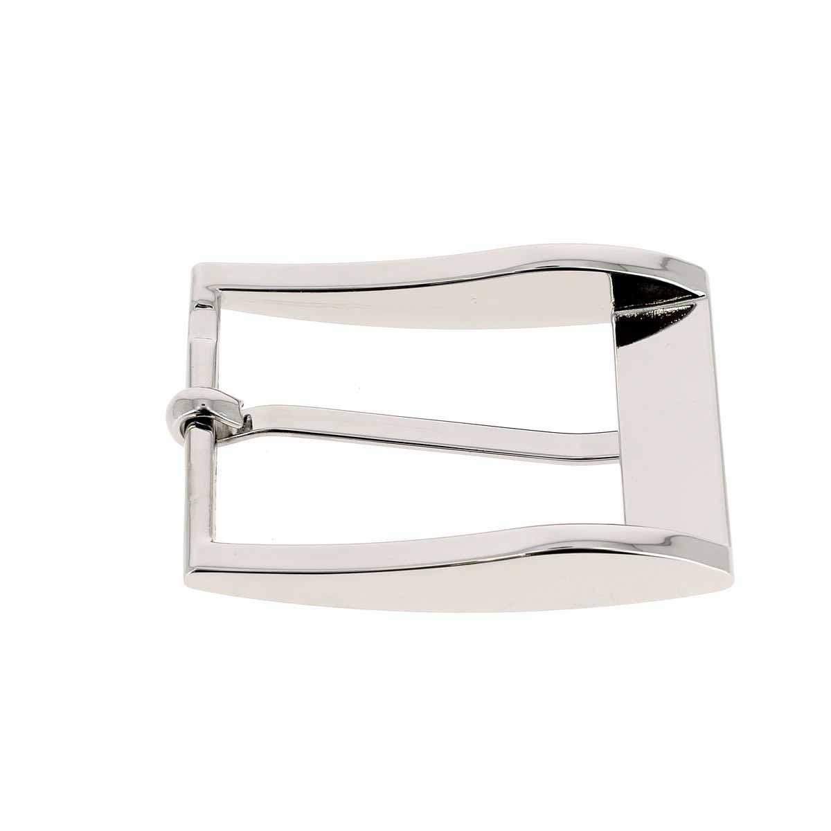 Boucle de ceinture ELI - NICKELE - 35 mm