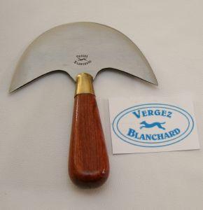 Couteau à pied demi lune 175 mm N°6 - Vergez Blanchard