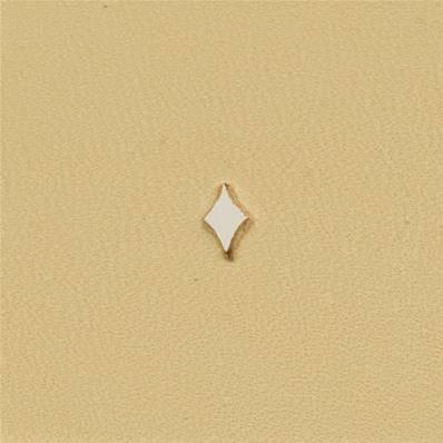 Embout emporte-pièce de précision - LOSANGE ETIRE - 6,5x4 mm