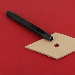 Emporte-pièce à frapper ROND manche DROIT - Diam 7 mm