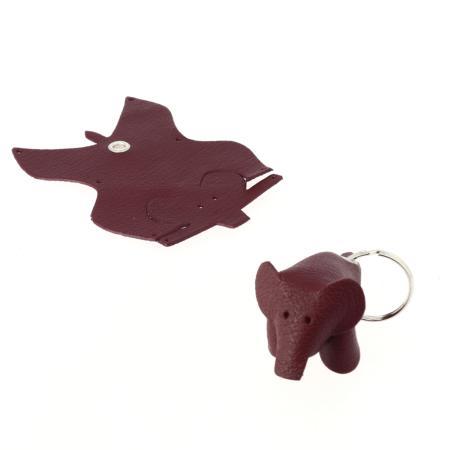 Kit ÉLÉPHANT porte-clés en cuir à monter soi-même