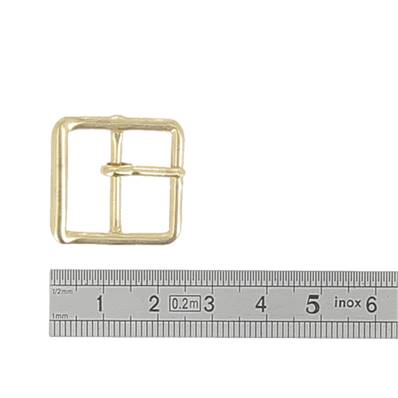 Boucle double à ardillon - DORE- 20  mm