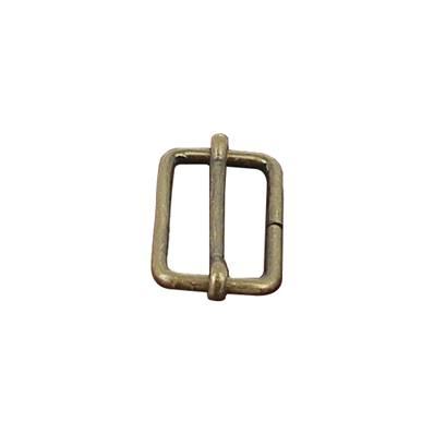 Boucle coulissante - Laiton vieilli - 25 x 13 mm - Fil 2,4 mm