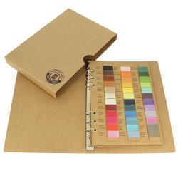 Nuancier - Catalogue gamme de fils de lin ciré MeiSi super fine