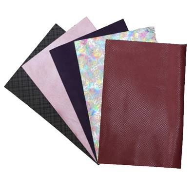 Lot SURPRISE de 5 morceaux de cuir DIVERS de dimension 20x30 cm - FANTAISIE