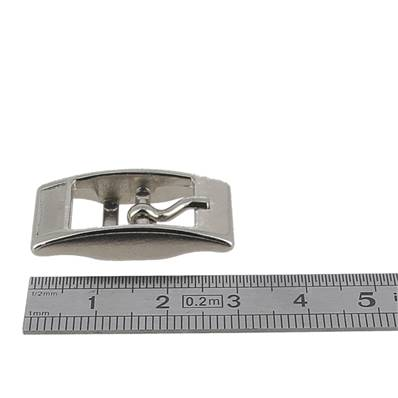Boucle double KIM - NICKELE - 12 mm