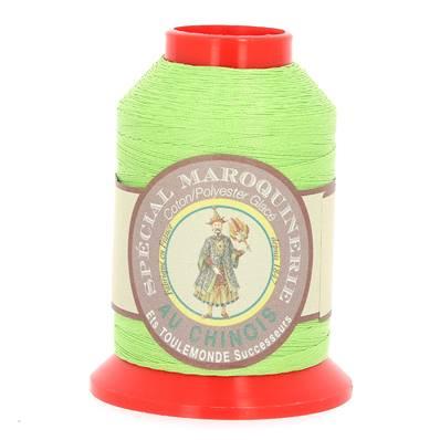 Fil Spécial Maroquinerie polyester coton - 28/2 - 0,38 mm - VERT CLAIR
