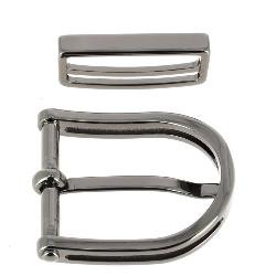 Boucle de ceinture avec passant PIO - CANON DE FUSIL - 30 mm