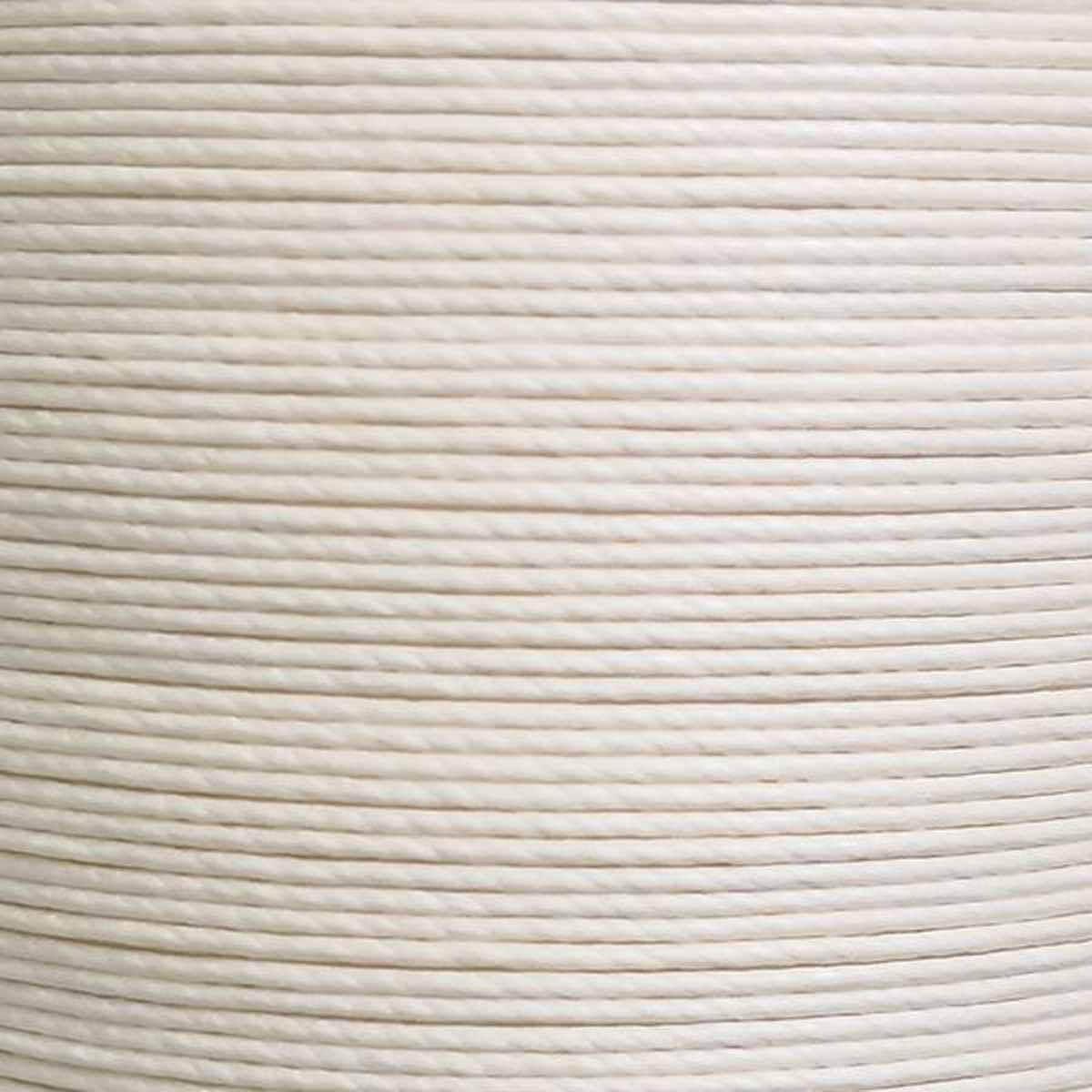 Bobine de 25m de fil de lin ciré MeiSi M90 - 0,9 mm - ÉCRU - MS101