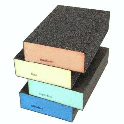 Lot de 4 éponges abrasives