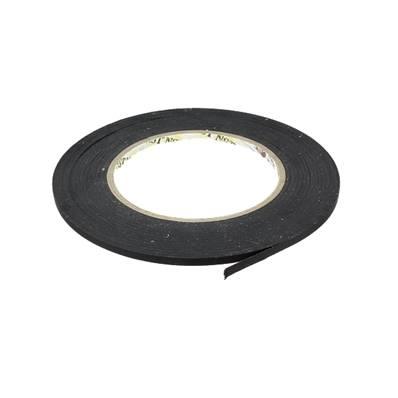 Ruban adhésif indéchirable noir - Largeur 4 mm