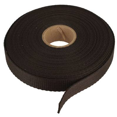 Sangle en Nylon MARRON - Largeur 20 mm - Rouleau de 10m