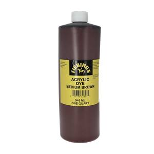 Peinture opaque - Fiebing's Acrylic Dye - MARRON CHOCOLAT / DARK BROWN - 946ml