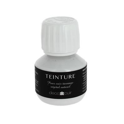 Teinture base aqueuse Deco Cuir - BLANC - 60 ml