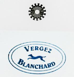 Molette n°6 pour griffe à molette VERGEZ BLANCHARD - Pour DROITIER