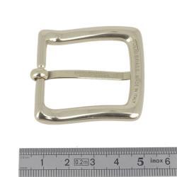 Boucle en laiton massif - LUC - LAITON BRUT - 30 mm