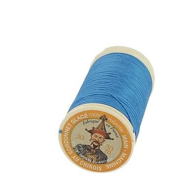 """Cordonnet 100% polyester """"Au Chinois"""" - Bobine de 30 mètres - TURQUOISE 720"""