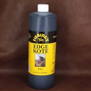 Finition de tranche NOIR - BLACK pour cuir - FIEBING'S edge kote - Bidon de 946 ml
