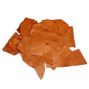 Lot de 1 kg de chutes de cuir LUXE - FAUVE