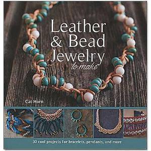 """Livre """"LEATHER & BEAD JEWELRY"""" - Fabriquer vos bijoux en cuir et perles"""