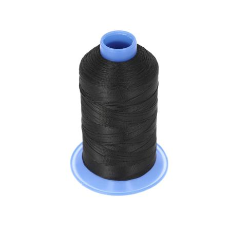 Bobine de fil polyester retors N° 60 - 700 mètres - Noir