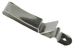 Clip pour ceinture - NICKELE - 22x90 mm