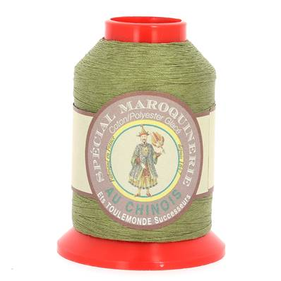 Fil Spécial Maroquinerie polyester coton - 28/2 - 0,38 mm - MOUSSE