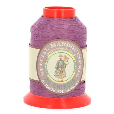 Fil Spécial Maroquinerie polyester coton - 28/2 - 0,38 mm - VIOLET