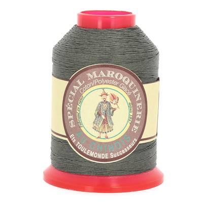 Fil Spécial Maroquinerie polyester coton - 28/3 - 0,45 mm - ARDOISE