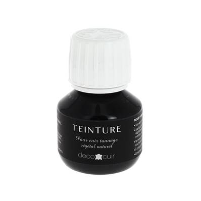 Teinture base aqueuse Deco Cuir - NOIR - 60 ml