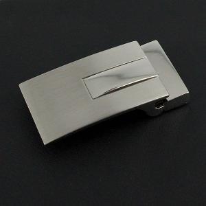 Boucle de ceinture à griffe JED - NICKELÉ SATINÉ et NICKELÉ - 35 mm