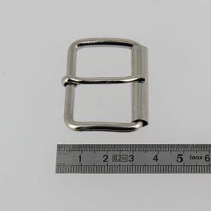 Boucle à rouleau à ardillon - NICKELE - 35 mm