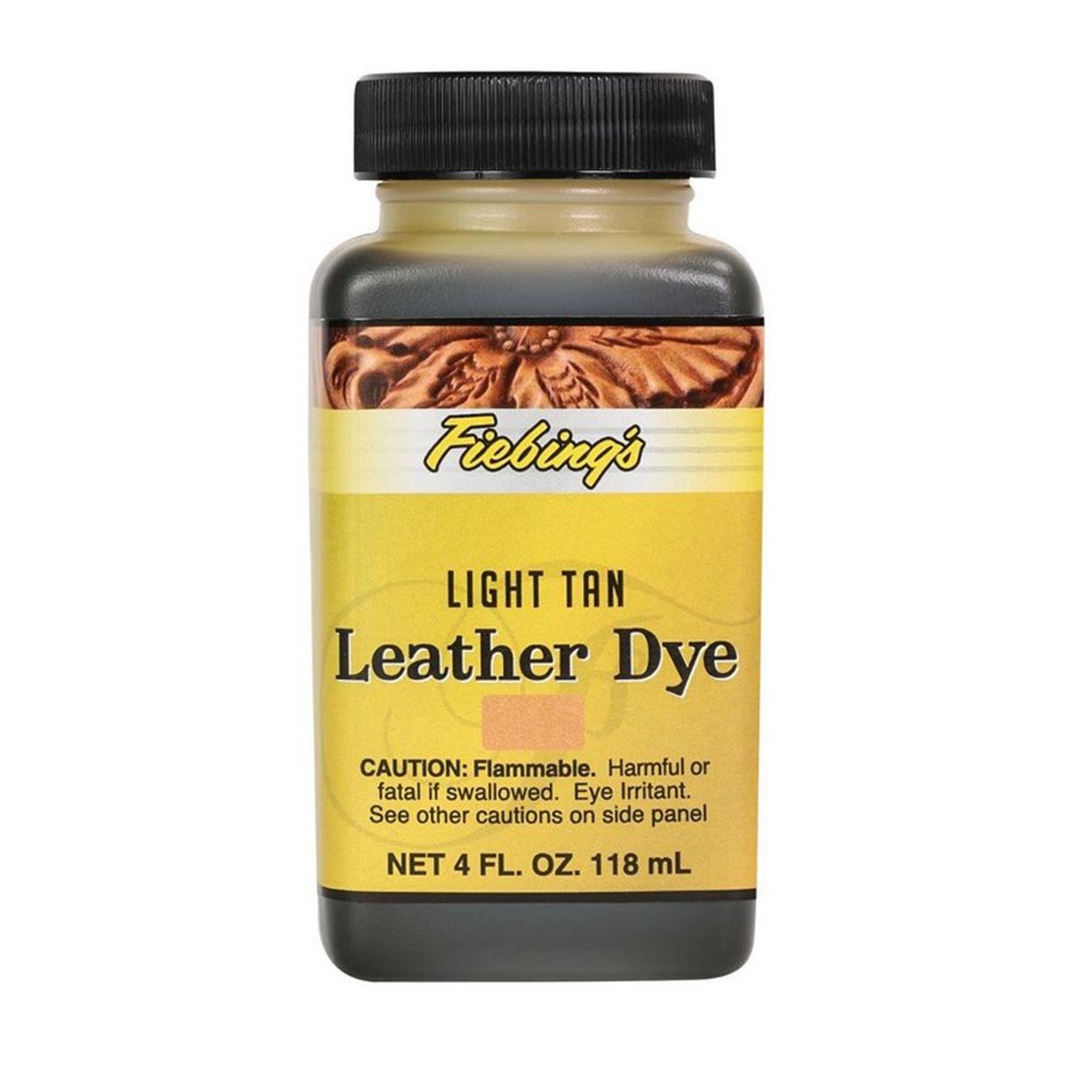 Teinture pour cuir FIEBING'S Leather dye - MARRON FAUVE - TAN LIGHT