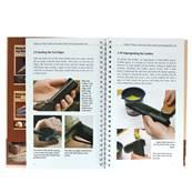"""Livre """"MAKING LEATHER KNIFE SHEATHS"""" - Créer vos étuis à couteaux en cuir - Volume 1"""