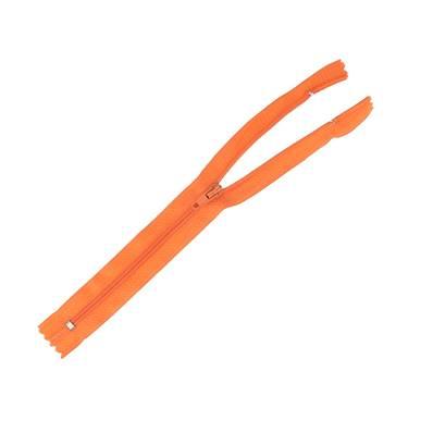 Fermeture à glissière NYLON #4 - ORANGE - Longueur 20 cm
