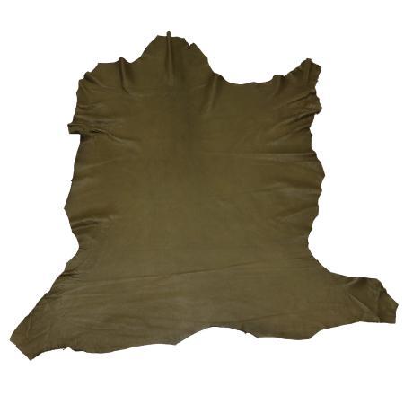 Peau de cuir de cerf - VERT KAKI C46 - 2' choix