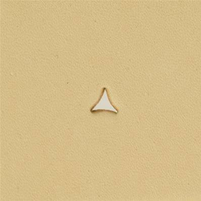 Embout emporte-pièce de précision - TRIANGLE COURBE - 3,5x3,5 mm