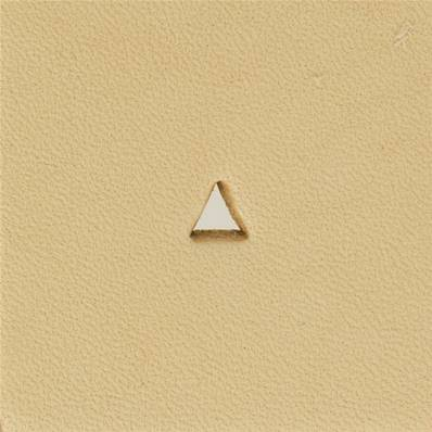Embout emporte-pièce de précision - TRIANGLE HAUT - 4x3 mm