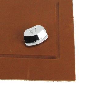 Filet simple symétrique - 2,5 mm pour fer à fileter